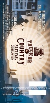 Trucker & Country Festival 2020 - BLIND Ticket