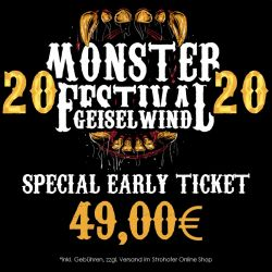 Monster Festival 2020 - Special Early Ticket