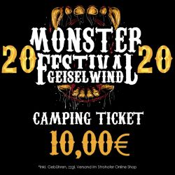 Monster Festival 2020 - Camping Ticket