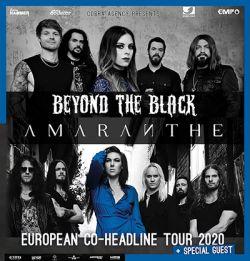 BEYOND THE BLACK & AMARANTHE 11.12.2020