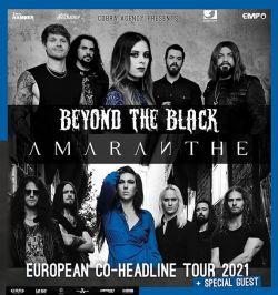 BEYOND THE BLACK & AMARANTHE Tour 2021