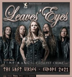 Leaves´ Eyes Sa. 30.10.2021