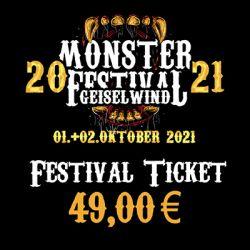 Monster Festival 01.+02.10.2021 - Ticket
