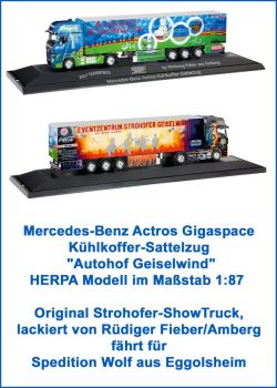 Strohofer ShowTruck Modell