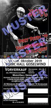 AC/DC Fantreffen Tagesticket Freitag 18.10.2019