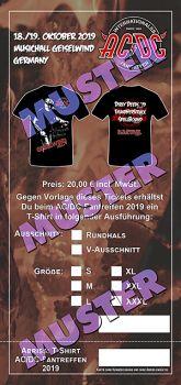Vorbestellung V-Ausschnitt Shirt AC/DC Fantreffen