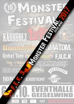 Festivalband Monster 2017