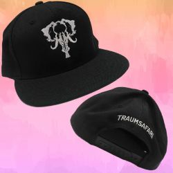 Traumsafari Cap schwarz/weiß