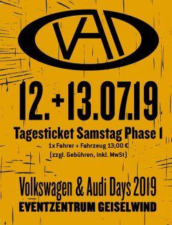 VAD 76 - Tagesticket Samstag KFZ+Fahrer