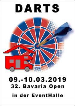 32. Bavaria Open 08.-10. März 2019 - WoMo überdacht