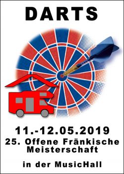 25. Offene Fränkische Meisterschaften 10.-12. Mai 2019 - WoMo überdacht