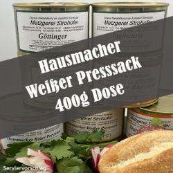 Hausmacher Weißer Presssack in der 400 g Dose